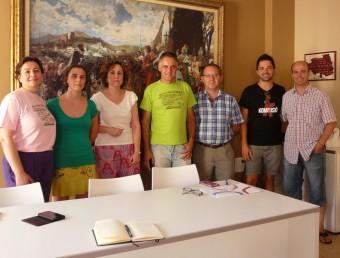 Reunió amb la directora general d'Energia. Foto:B. SILVESTRE