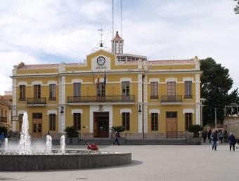 Edifici de l'Ajuntament de Burjassot. Foto:ESCORCOLL