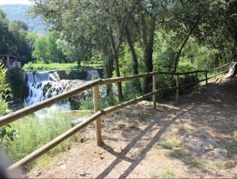 Una vista de la zona del Boscarró on ara l'Ajuntament hi iniciarà una nova fase de millora de l'entorn. Foto:J.C