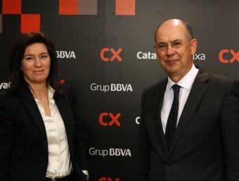 Cristina  de Parias, presidenta de Catalunya Caixa Foto:ARXIU