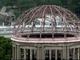 Cúpula de la Bomba Atòmica, situada al parc commemoratiu de la Pau a Hiroshima efe
