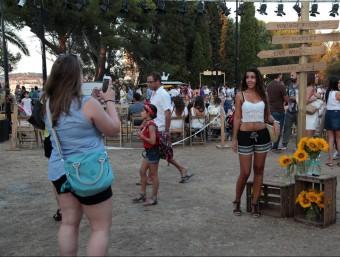 Desfilades, música i parades de moda eren els atractius de la mostra. Foto:JOAN SABATER