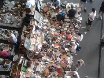 Aquesta és la imatge desoladora del fons Ràfols als Encants Foto:JOAN PINYOL