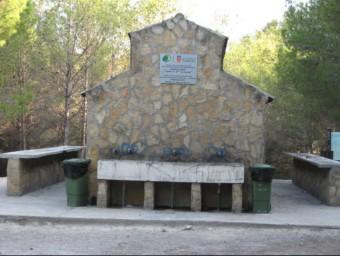"""Zona d'oci de """"La Canyada del Conill"""" al terme de Torrent de l'Horta. Foto:P. MORENO"""