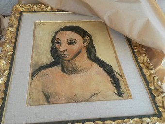 L'obra de Pablo Picasso titulada Head of a young woman