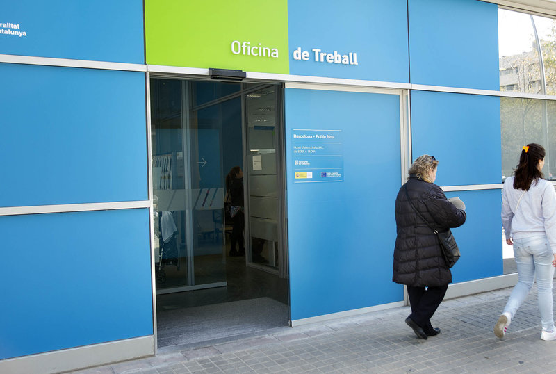 05 gen 2016 catalunya tanca el 2015 amb aturats for Oficina seguretat social