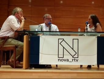 """""""Nova Ràdio"""" és el projecte radiofònic de Guanyant Torrent. Foto:ESCORCOLL"""