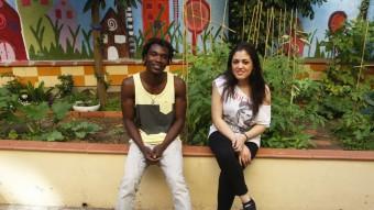 Modu Dieye i Soukaina Damiri són dos dels joves que tenen l'acompanyament de la Fundació Comtal tant en l'aspecte formatiu com d'assessorament jurídic Foto:ORIOL DURAN