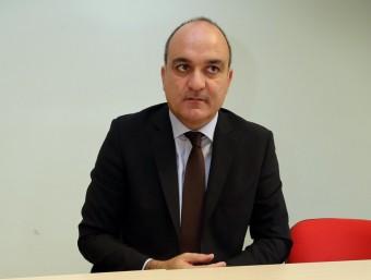Andreu Subies, president de la FCF Foto:QUIM PUIG