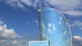 L'hotel Vela és un dels hotels de 5 estrelles i gran luxe que hi ha a Barcelona Foto:QUIM PUIG / ARXIU