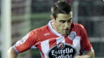 Fernando Seoane amb la samarreta del Lugo Foto:L'ESPORTIU
