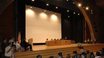 La URV ja ha estat la seu de la inauguració del sistema universitari català en ocasions anteriors Foto:CEDIDA