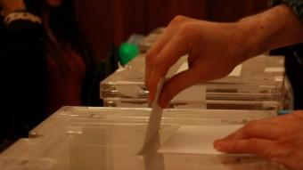 Urnes electorals Foto:ACN