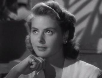 L'actriu sueca en un dels seus papers llegendaris, Ilsa Lund, a 'Casablanca' (1942) Foto:ARXIU