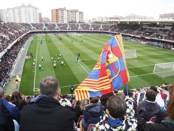 Entrenament de portes obertes del Barça.n Foto:O.D