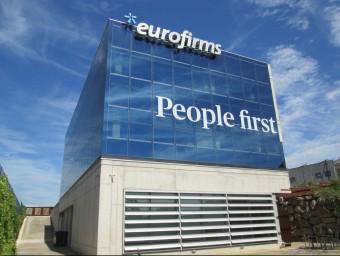 La seu central que l'empresa Eurofirms té a Cassà de la Selva. Foto:EL PUNT AVUI