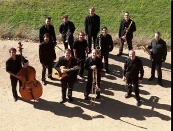 La Selva Big Band Jazz Orquestra acompanyarà en el concert de demà la jove promesa vocal Carme Boadas Foto:ARXIU