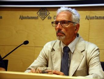 El jutge Santiago Vidal ha explicat les esmenes presentades pels ciutadans, des de Girona Foto:ACN