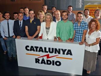 Els realitzadors dels programes de la nova temporada de Catalunya Ràdio Foto:JUANMA RAMOS