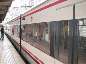 Un comboi de Rodalies en una imatge d'arxiu Foto:EUROPA PRES
