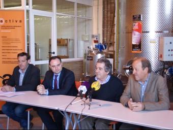 Responsables de les administracions impulsores en l'acte de presentació al març Foto:J.L.E