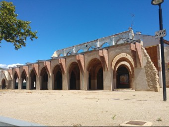 Aspecte actual de l'edifci de l'Odèon un cop s'han consolidat les estructures que quedaven en peut.m.