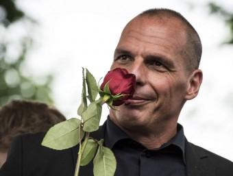 L'exministre de Finances grec, diumenge a França Foto:AFP