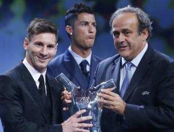 Leo Messi i Marc Ter Stegen, millor gol i millor aturada de la temporada Foto:REUTERS / AFP