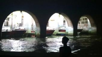 'Dérive Veneziane', d'Antoni Muntadas, mostra Venècia de nit des dels canals de la ciutat Foto:ANTONI MUNTADAS