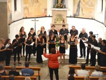 Un moment del concert. Foto:PACO DALMAU
