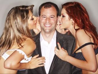Noel Biderman en una imatge d'uns anys enrere, quan el negoci li somreia Foto:ARXIU