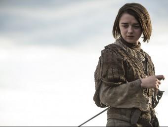 Arya Stark, un dels personatges de 'Joc de trons' Foto:CANAL +