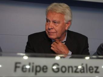 L'expresident del govern espanyol, Felipe González Foto:ACN