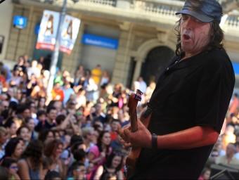 El concert de Lax'n'busto ahir a la tarda a la Rambla de FigueresLLUÏS SERRAT