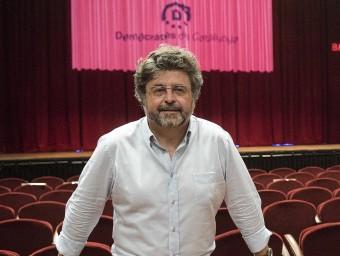 Antoni Castellà, el dia que es va presentar Demòcrates Foto:J. LOSADA /ARXIU