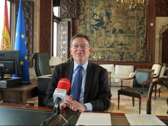 El president de la Generalitat, Ximo Puig. Foto:EUROPA PRESS