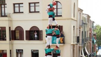 El tres de nou de Vilafranca d'ahir Foto:ELISABETH MADRE