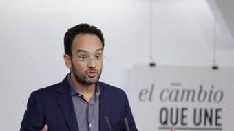 Antonio Hernando, portaveu del PSOE al Congrés Foto:EFE