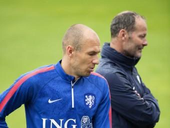 Robben i Blind Foto:EFE
