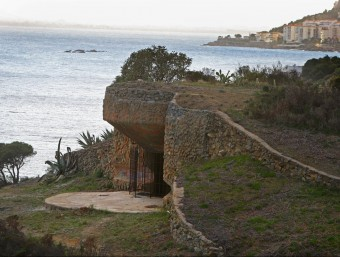 Imatge de Punta Falconera, un espai natural on l'Ajuntament invertirà. Foto:LLUÍS SERRAT