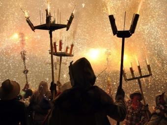 Els diables Voramar. Foto:EL PUNT AVUI