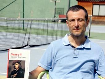 """L'autor de """"Sense fi"""", Salvador Company. Foto:ACN"""