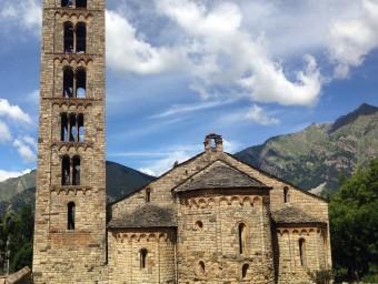 Sant Climent de Taüll és l'església més visitada del conjunt.