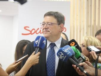 Ximo Puig ha participat en les jornades interparlamentaries del PSPV. Foto:AGÈNCIES