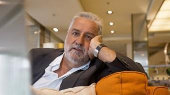 Rafel Nadal, aquesta setmana a Barcelona, està preparant una nova novel·la Foto:ALBERT SALAMÉ