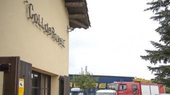 Una de les càmeres del Restaurant Coll de Ravell. Foto:GLÒRIA SÁNCHEZ / ICONNA