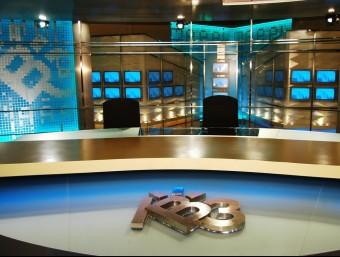 Un platço de televisió dels estudis d'IB3 Foto:EUROPA PRESS