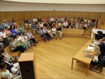 Acte de presentació del projecte a la Universitat. Foto:EL PUNT AVUI