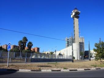 Edifici del centre emissor de Canal 9 a Burjassot. Foto:ESCORCOLL