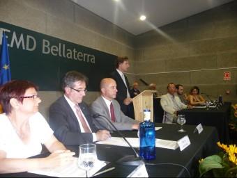 Una imatge del dia de la constitució formal de l'EMD de Bellaterra el 6 de juliol del 2010. Foto:EMMA ANSOLA